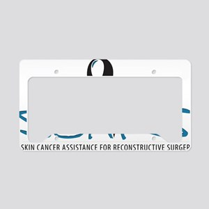 cafepress-large-logo License Plate Holder