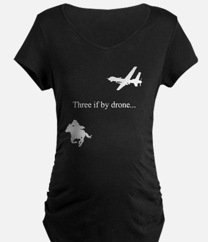 three if by drone tee T-Shirt