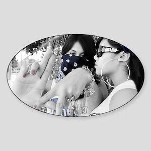 locas Sticker (Oval)