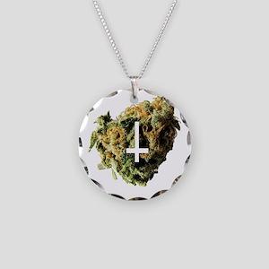 24CROSSNUG Necklace Circle Charm