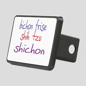 shichon_black Rectangular Hitch Cover