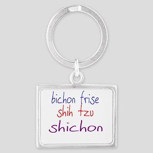 shichon_black Landscape Keychain