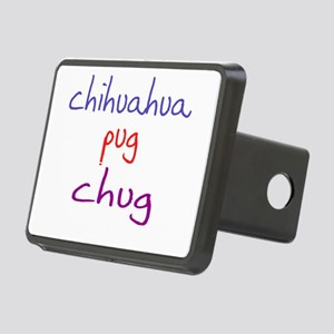 chug_black Rectangular Hitch Cover
