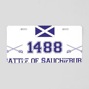 1488 Battle of Sauchieburn  Aluminum License Plate