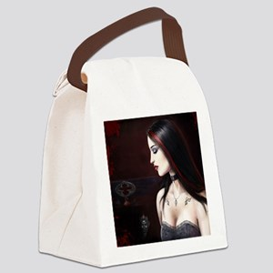 choker bigga square for mousemat Canvas Lunch Bag