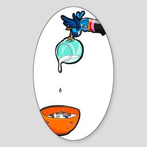 WhoCanTouCan Sticker (Oval)
