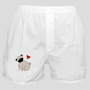 StickLuvPug Boxer Shorts
