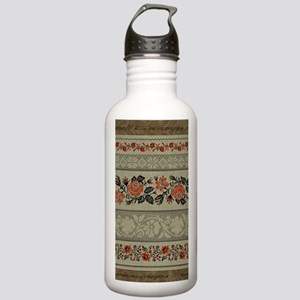 Ukrainian Embroidery Stainless Water Bottle 1.0L