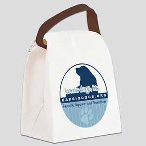 button-paw Canvas Lunch Bag