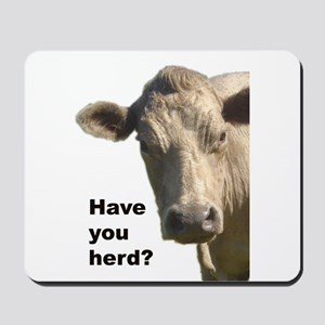 Have you herd? Mousepad