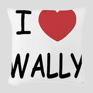 WALLY Woven Throw Pillow