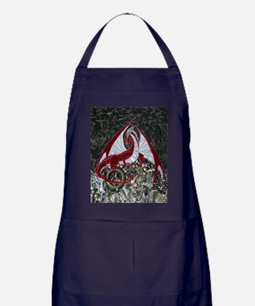 Mine-ipad-9148 Apron (dark)