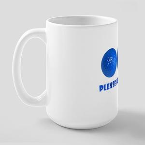 Blueballs Large Mug