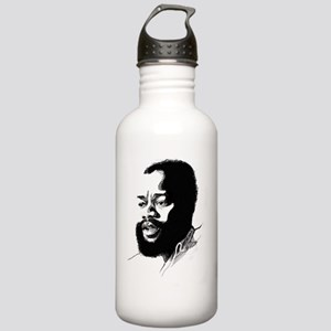 Ojukwu sketch white Stainless Water Bottle 1.0L