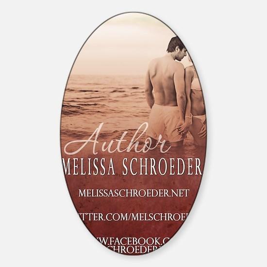 Melissa Schroeder BC Sticker (Oval)