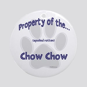 Chow Property Ornament (Round)