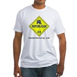 Republican Fitted T-shirt (Made in the USA)