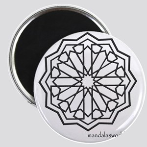 iPhone Alhambra Mandala Dark Grey Magnet