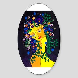 Persephone Oval Sticker