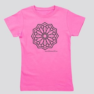 iPhone Alhambra Mandala Dark Grey Girl's Tee