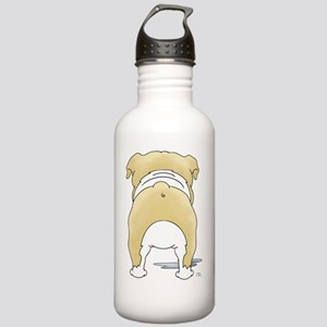 BlondeBulldogShirtBack Stainless Water Bottle 1.0L
