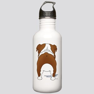 RedBulldogShirtBack Stainless Water Bottle 1.0L