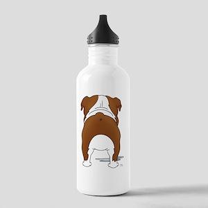 RedBulldogShirtBack Stainless Water Bottle 1.0L