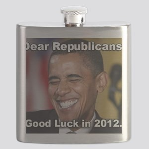 Sign Good luck youse Flask