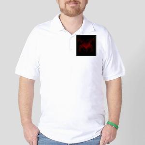 Bat-Winged Heart (iTouch4) Golf Shirt