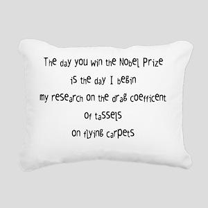 nobel prize Rectangular Canvas Pillow