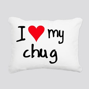 iheartchug Rectangular Canvas Pillow