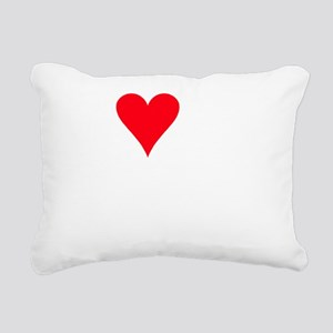 I LOVE MY Shichon Rectangular Canvas Pillow