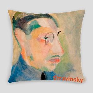 Igor Stravinsky Everyday Pillow