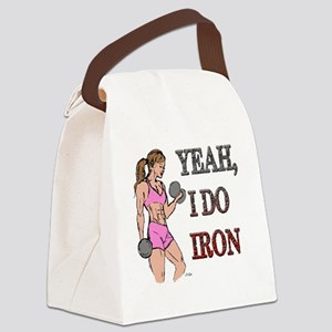 IRON Canvas Lunch Bag
