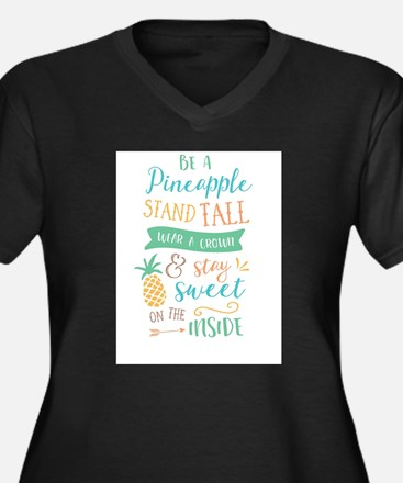 Be A Pineapple Plus Size T-Shirt