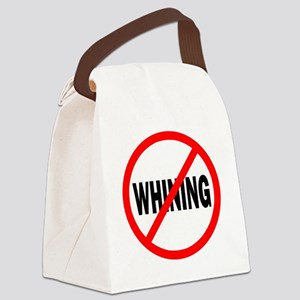 NoWhining Canvas Lunch Bag