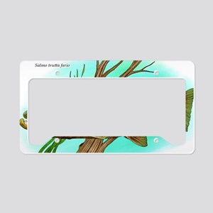 Brown Trout License Plate Holder