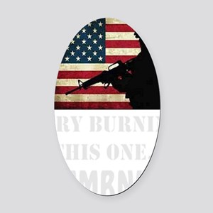 Try Numbnut dark Oval Car Magnet