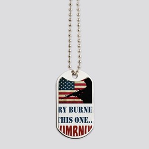 Try Numbnut White Dog Tags