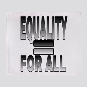 EQUALITY FOR ALL Throw Blanket