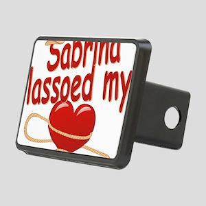 sabrina-g-lassoed Rectangular Hitch Cover