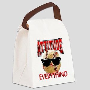 AttitudeBB2-7-12NEW Canvas Lunch Bag
