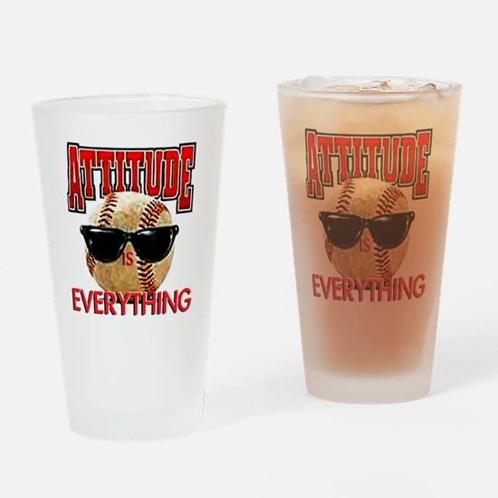 AttitudeBB2-7-12NEW Drinking Glass