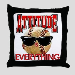 AttitudeBB2-7-12NEW Throw Pillow