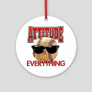 AttitudeBB2-7-12NEW Round Ornament