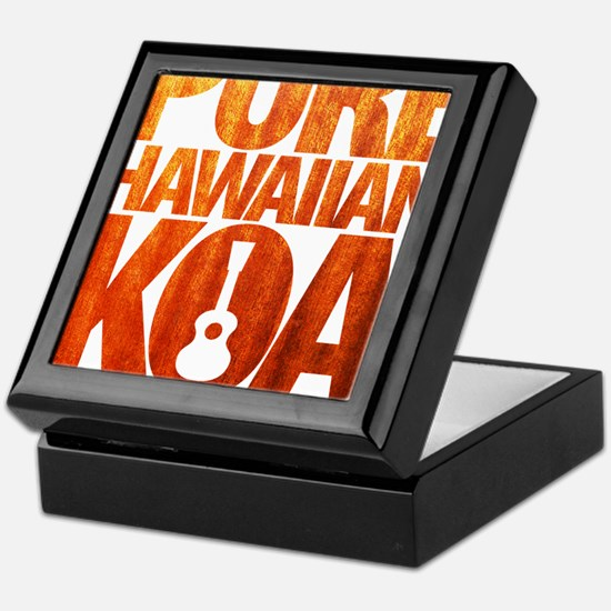 Pure Hawaiian Koa Keepsake Box