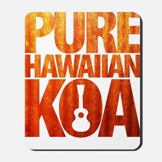 Pure Hawaiian Koa Mousepad