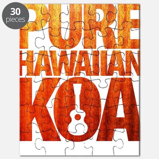 Pure Hawaiian Koa Puzzle