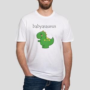 babyasaurus Fitted T-Shirt