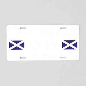 1344 Ben Nevis Aluminum License Plate